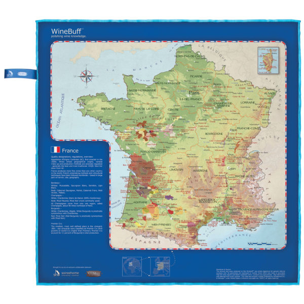 Map Of France Facts.Winebuff France Soireehome Unique And Fun Housewares
